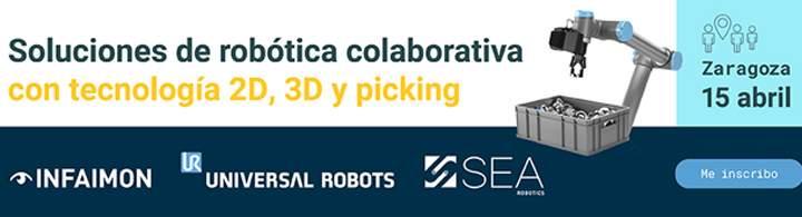 Jornada para conocer y acercar las últimas aplicaciones de robótica colaborativa