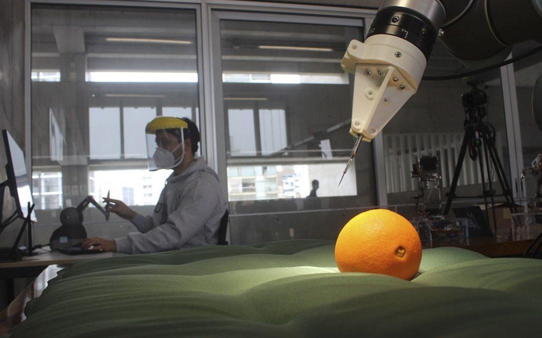 Investigadores desarrollan el primer sistema robótico de cirugía en el Perú