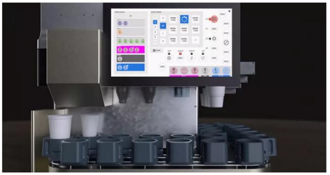 Este es el robot automático que te servirá tu bebida en el futuro
