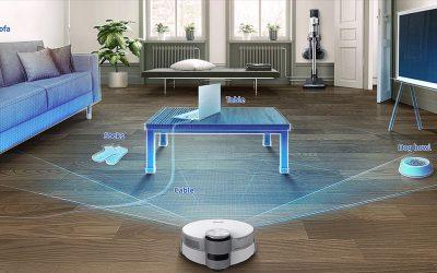 El robot de Samsung que detecta calcetines en el suelo