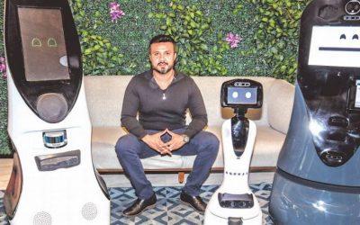 Robots mexicanos filtran el Covid