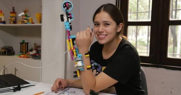 Arantza Méndez, la joven mexicana amante de la Robótica que inspira con su historia en Disney