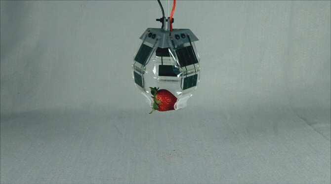 Nueva clase de articulaciones electrohidráulicas para robots