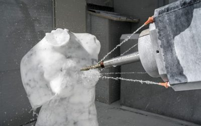 """En Carrara, ahora esculpen los robots: """"No necesitamos otro Miguel Ángel"""", dicen"""