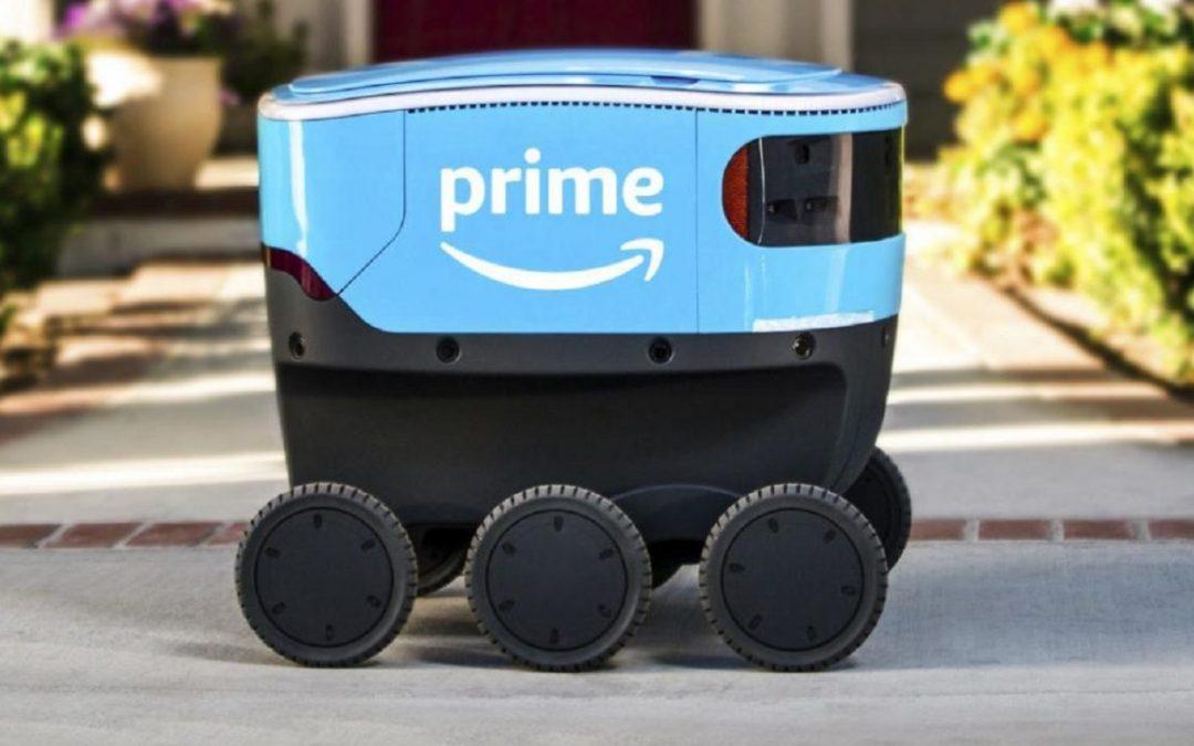 Robot Scout, así llegarán algún día a tu casa los paquetes de Amazon