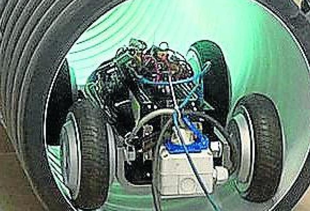 Nace Retub, el robot que repara tuberías sin tener que hacer obras