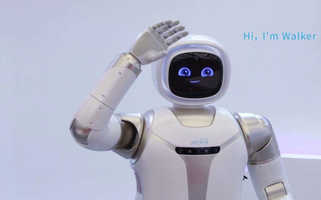 Empresa china UBTECH lanza un prototipo de robot humanoide doméstico.