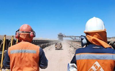 Robots al servicio de la minería
