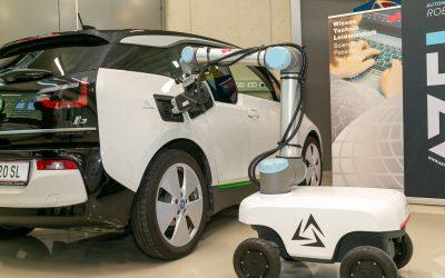 Un consorcio austriaco desarrolla un robot autónomo de recarga automatizada de coches eléctricos