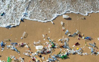 Pequeños robots nadadores pueden ayudar a limpiar un desastre de microplásticos