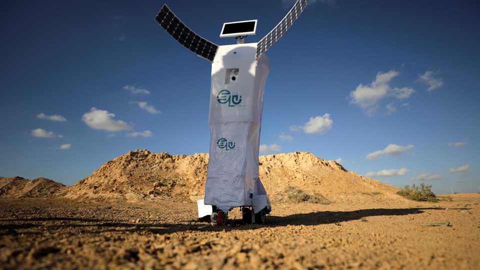 Elu: así es el robot que fue construido para convertir aire en agua y que podría ser usado en Marte