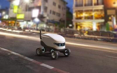 Crean el primer sistema del mundo que permitirá cargar robots autónomos o drones de reparto sin interrumpir su tarea