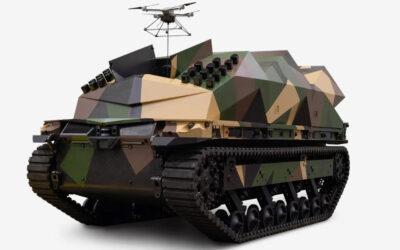 EE.UU. presenta robot terrestre capaz de portar medio centenar de drones kamikaze